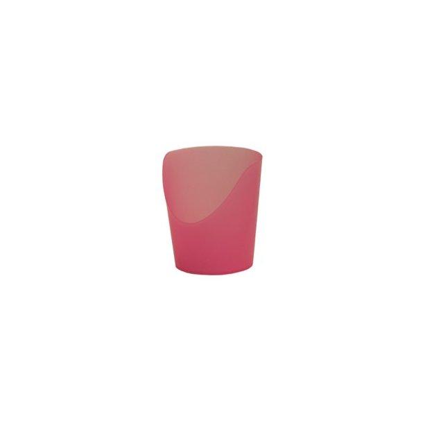 Krus med udskæring pink 2 stk. 30 ml.