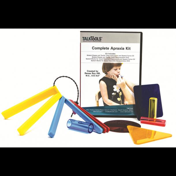 Dyspraksi-sæt (eng. apraxia) undervisning DVD og materialer